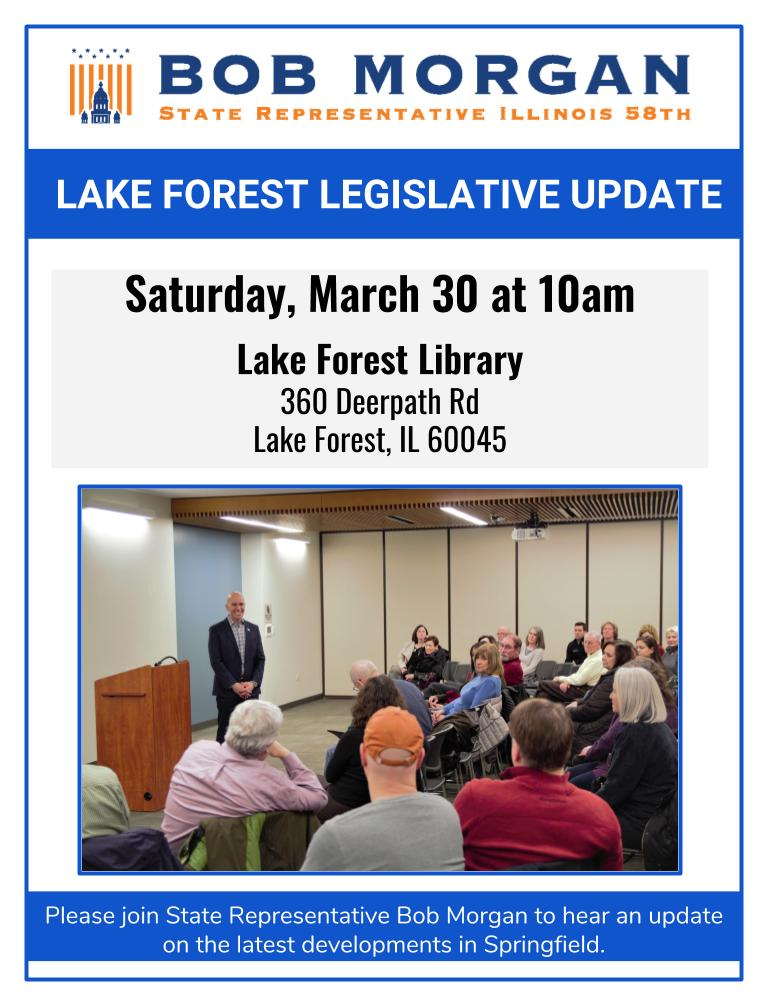 lake forest townhall